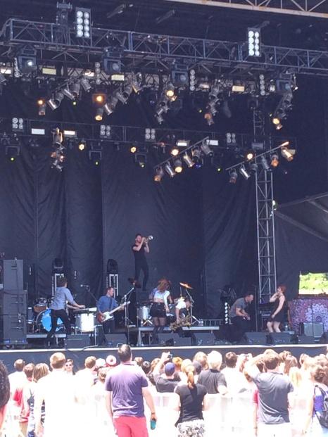 San Fermin at Shaky Knees Festival May 2014