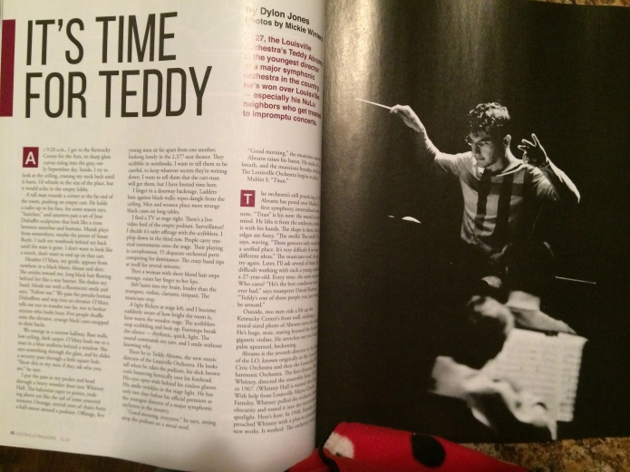 Louisville Magazine's Teddy Abrams feature