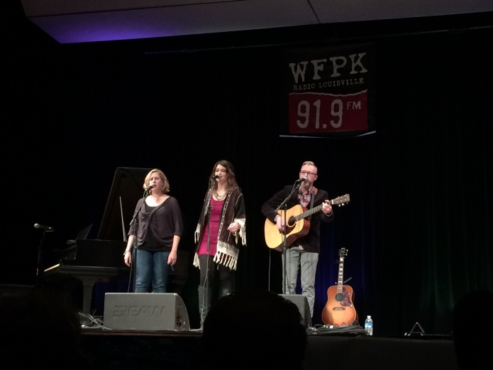 Alex Wright with Tara Anderson & Sarah Smith at The Clifton Center