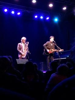 Joe Henry and Levon Henry at Headliners