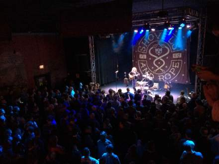 Sold out Headliners Music Hall for Shovels & Rope