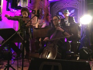 Teddy Abrams, Ben Sollee and Scott Moore at Bermuda Highway