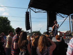 Langhorne Slim at Boomtown Ball
