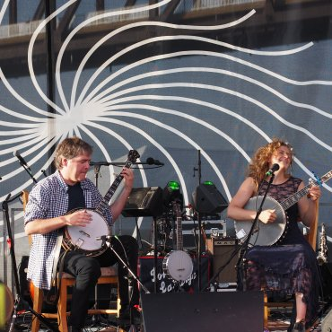 Béla Fleck & Abigail Washburn at Waterfront Wednesday