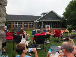 Howell Dawdy at the Foxhollow Farm Summer Sunset concert series