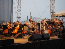 Ben Sollee at Louisville Orchestra Waterfront 4th