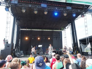 Broncho at Forecastle 2015