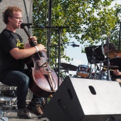 Ben Sollee at MoonTower Music Festival