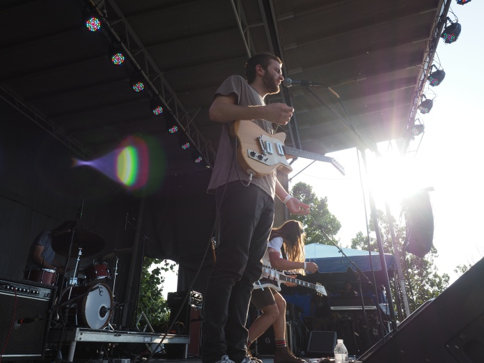The Lonely Biscuits at MoonTower Music Festival
