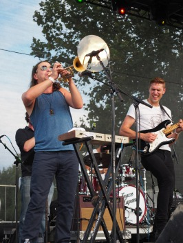 Space Capone at MoonTower Music Festival