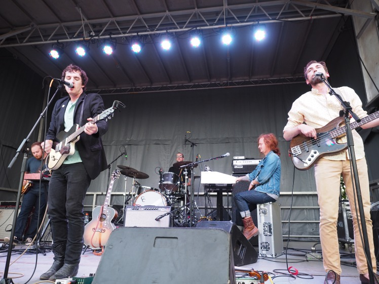 The Apache Relay at MoonTower Music Festival