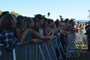 Fans at Lou Fest