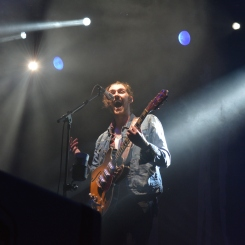 Hozier at Lou Fest