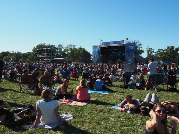 The Bud Light Stage at Lou Fest