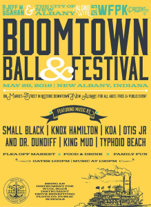 boomtown ball flyer