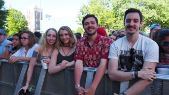 Fans at Shaky Knees 2016