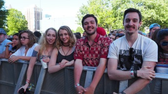Fans at Shaky Knees 2016