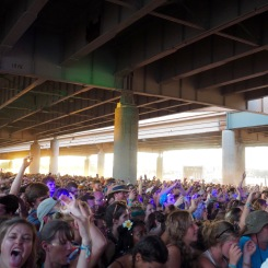 Fans at Ocean Stage - Forecastle 2016