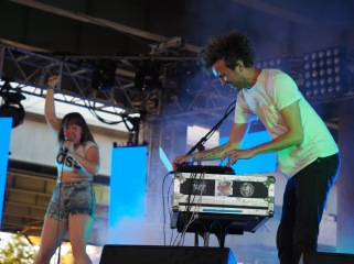 Sylvan Esso - Forecastle 2016