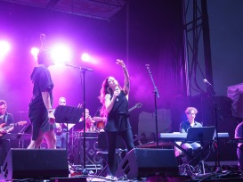 Lacey Guthrie and MaryLiz Bender at Forecastle 2017