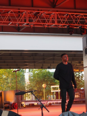 Vince Staples at Forecastle 2017