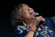 Mavis Staples performing on The Which Stage Saturday